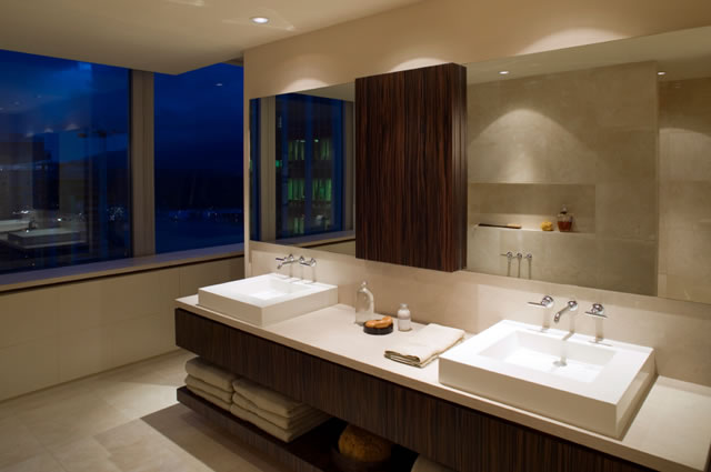 Bachas Para Baño Modernas:Bathroom Counter Design